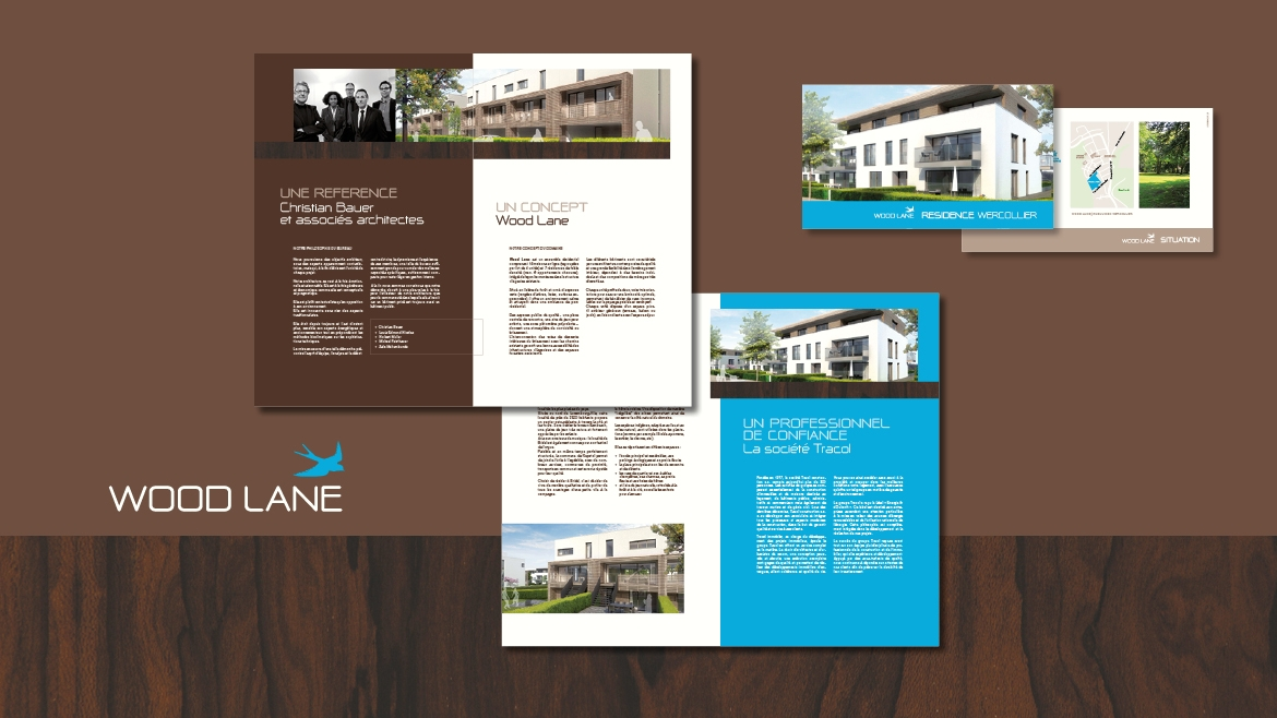 LOGO, BROCHURE IMMOBILIERE
